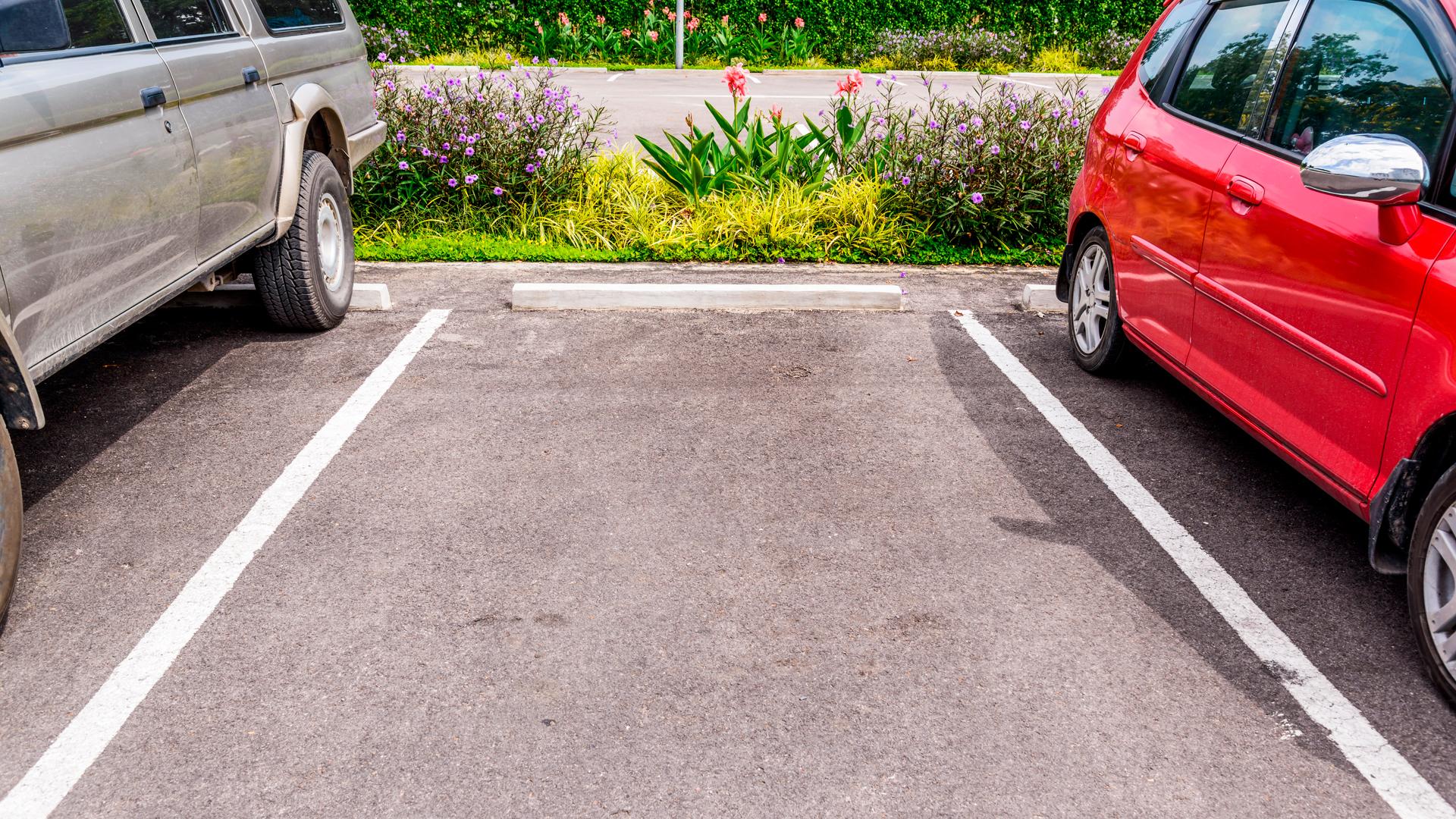 Tyhjä parkkiruutu