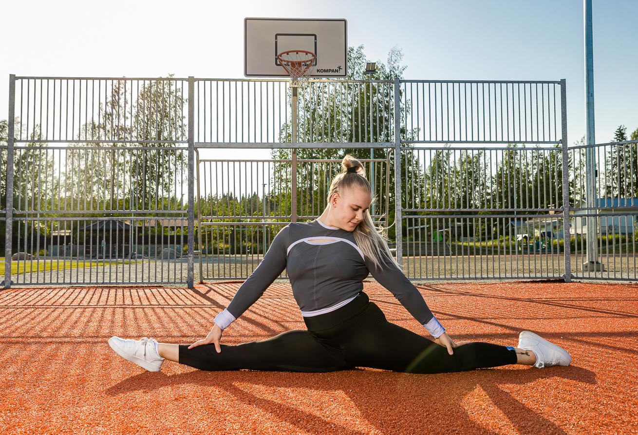 Jessica Huhtinen fitness-urheilija