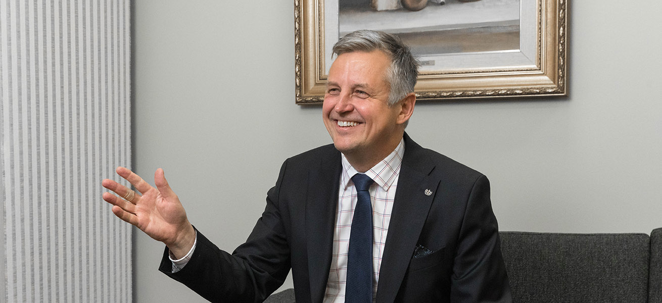 OP Oulun toimitusjohtaja Keijo Posio