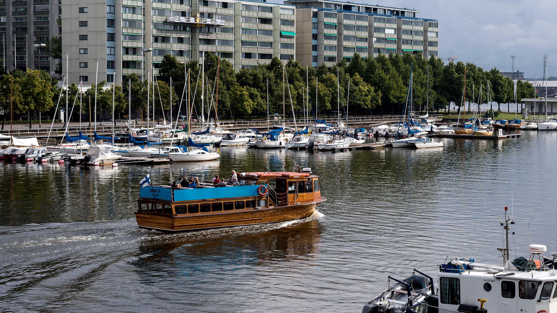 Vesibussi Helsingissä