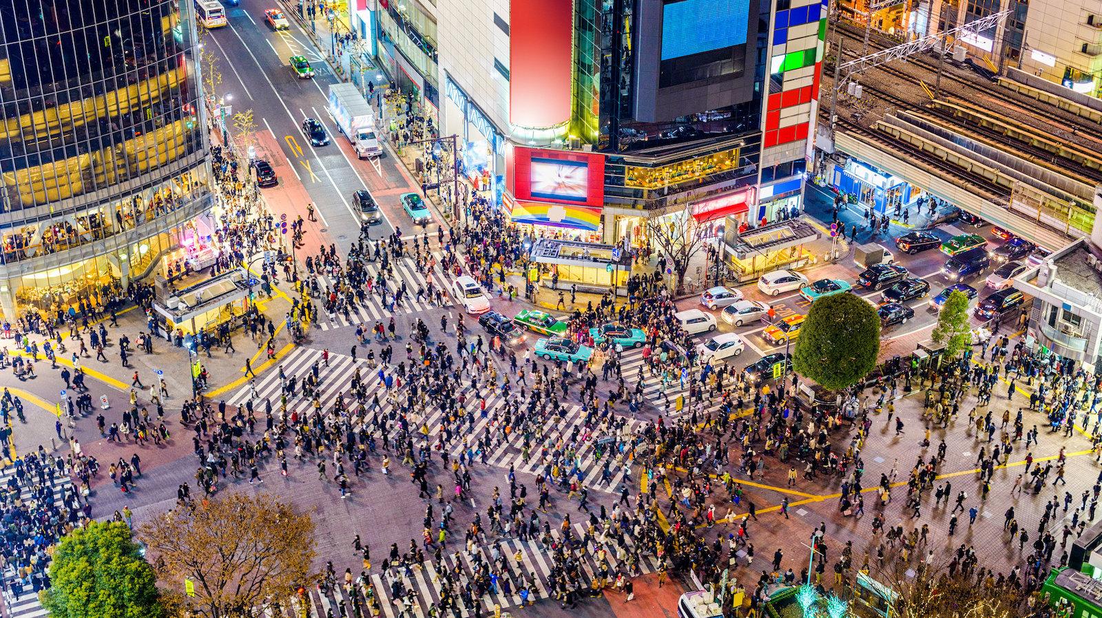 Risteysalue Tokiossa